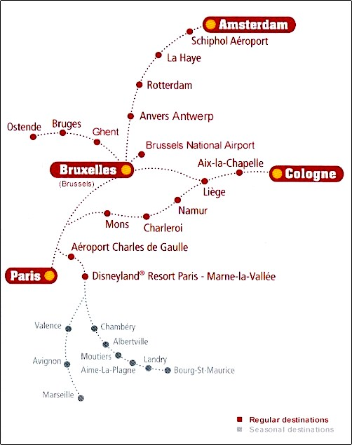 Thalys Map Related Keywords Amp Suggestions Thalys Map
